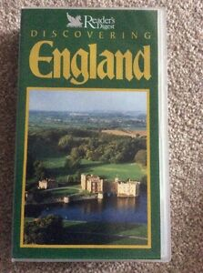 READERS DIGEST DISCOVERING ENGLAND  VHS VIDEO - Edinburgh, Midlothian, United Kingdom - READERS DIGEST DISCOVERING ENGLAND  VHS VIDEO - Edinburgh, Midlothian, United Kingdom