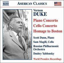 Vernon Duke: Piano Concerto; Cello Concerto; Homage to Boston, New Music