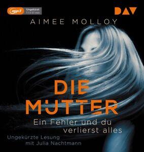 DIE-MUTTER-EIN-FEHLER-UND-DU-VERLIERST-ALLES-MOLLOY-AIMEE-MP3-CD-NEW
