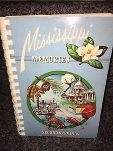 1983 Mississippi Memories American Cancer Society Community Cookbook MD