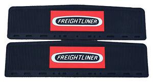 Semi Mud Flaps >> Details About Freightliner Trucks 6 X 24 Semi Truck Rubber Mud Flap Quarter Fender Flaps Set