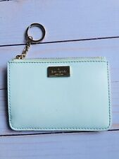 Kate Spade Bitsy Laurel Way Leather Zip-top Coin Card Purse Keychain Ring