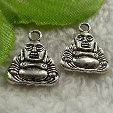 free ship 128 pieces tibet silver the Buddha charms 20x17mm #4150
