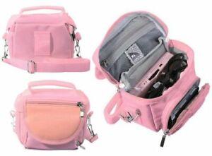 Pink-Nintendo-DS-Lite-DSi-DSi-XL-3DS-3DS-XL-Travel-Bag-Carry-Case