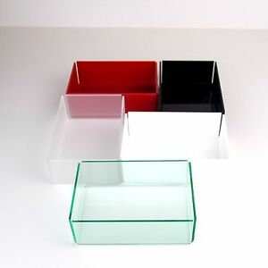Colour-Acrylic-Tray-5-Sided-Box-Organiser-Cosmetic-Display-Storage-Jewellery