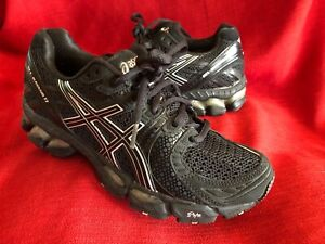 6 about Sneakers Shoes Black Women's Asics 5 17 Kayano Details T150N Gel IGS Running dBoCxeWr