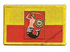 POLEN WARSCHAU AUFNÄHER Flaggen Fahnen Patch Aufbügler 8x6cm