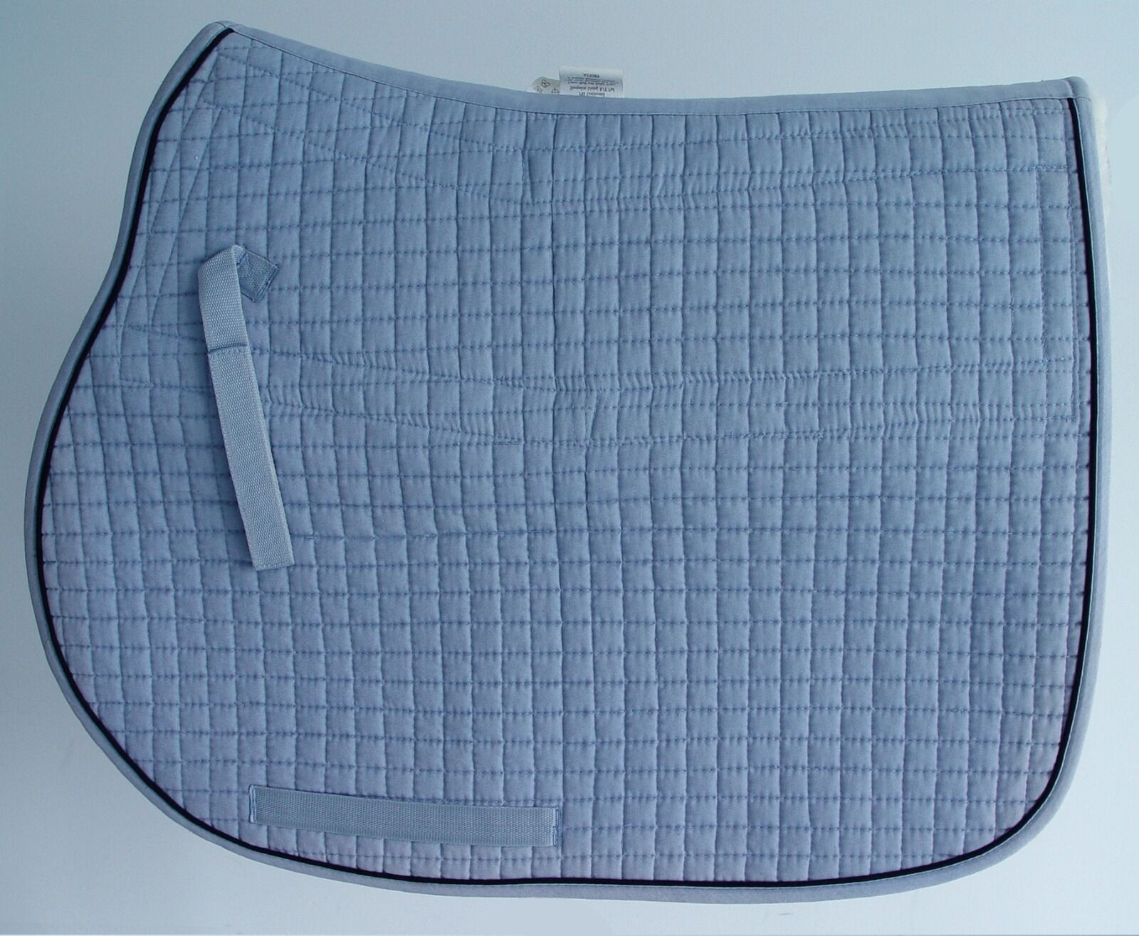 Sheepskin AP Pad, Detachable, Spine Channeled, High Wither, EquuFelt, Baby Blau