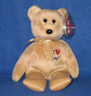 TY I LOVE LONDON the BEAR BEANIE BABY - UK EXCLUSIVE - MINT with MINT TAGS