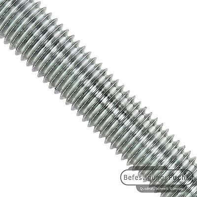 1 Meter Gewindestangen DIN 975 verschiedene Oberflächen Gewindestange Stahl 8.8