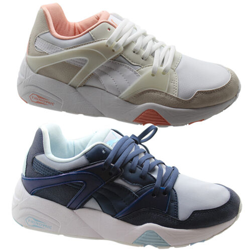 Puma Puma Puma Trinomic Blaze of Glory Filtered Womens Trainers shoes bluee White 359997 U1 6320e6