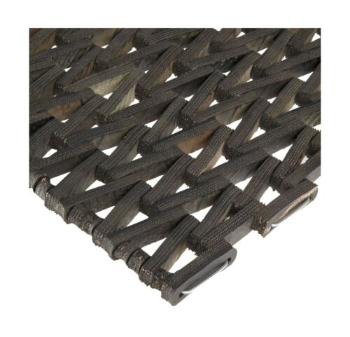 36... Herringbone Weave Durable Durite Recycled Tire-Link Outdoor Entrance Mat