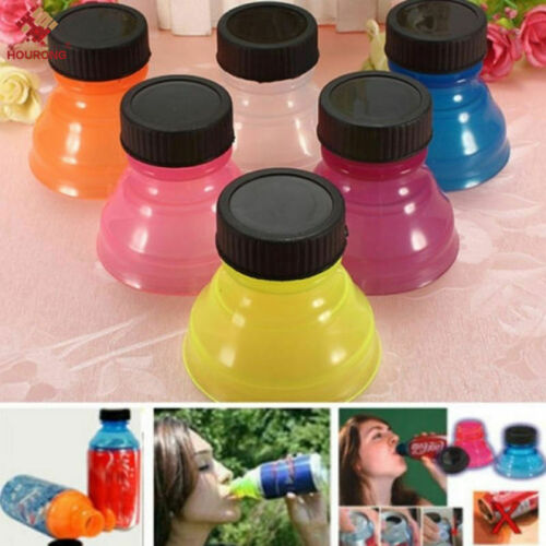 Reusable Beverage 6pcs Can Caps Cover Lids Tops Snap On Camping Soda Drink  Top