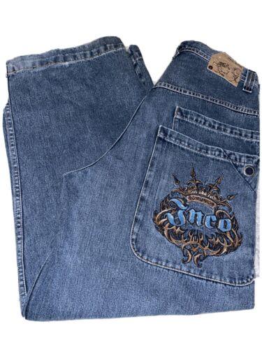 Vintage Jnco Jeans 90's Wide Leg 6 Pocket Rare 34x
