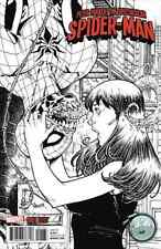 PETER PARKER SPECTACULAR SPIDERMAN 1 NAUCK NYCC B&W SKETCH VARIANT NM  AMAZING