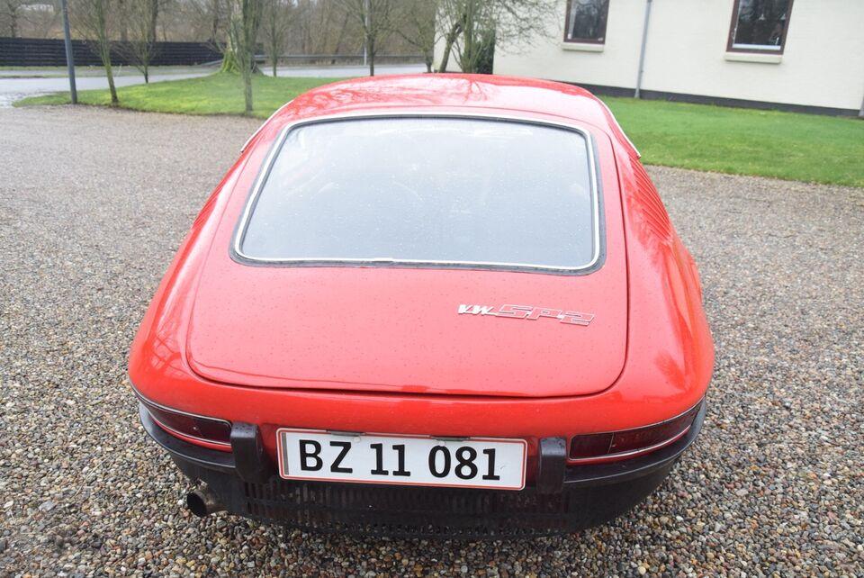 VW SP2 1,7 Coupé Benzin modelår 1975 km 56000 Rød