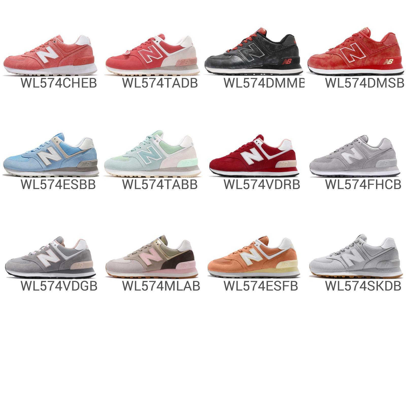 New Equilibrar WL574 B 574 Para Mujer Zapatos Tenis Correr  Elija 1  protección post-venta