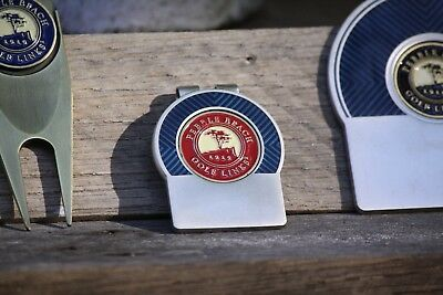 Free Engraving /& Shipping US Open Erin Hills Blue Trim Money Clip