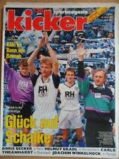 KICKER 42- 27.5. 1991 Bayern-Hertha BSC 7:3 St.Pauli-Köln 2:0 Joachim Winkelhock