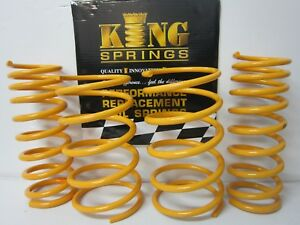 FORD FOCUS 2 LS 2005-2011 FRONT /& REAR SUPER LOW KING COIL SPRINGS
