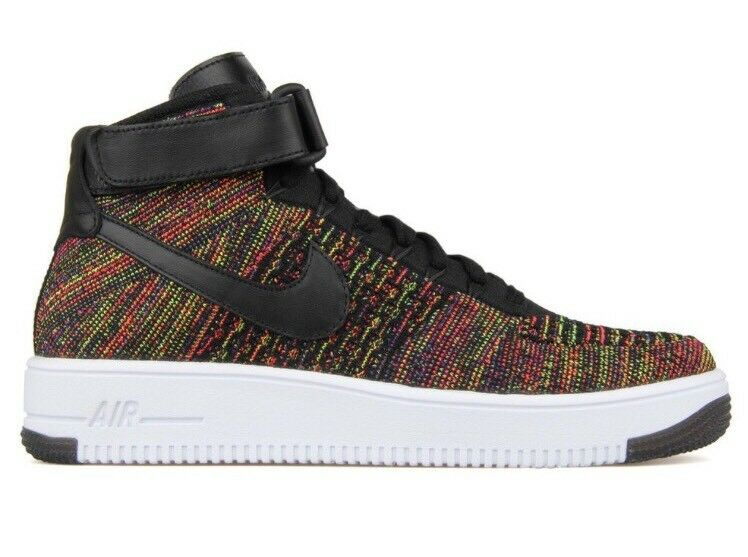 Nike air force 1 ultra flyknit multi met - colore nero a met multi 817420-002 af1 sz - 8 832a1a