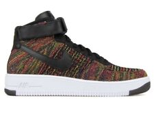 Nike Air Force Color 1 Flyknit Bajo Negro Multicolor Multi Color Force 817419 001 ddd9a1