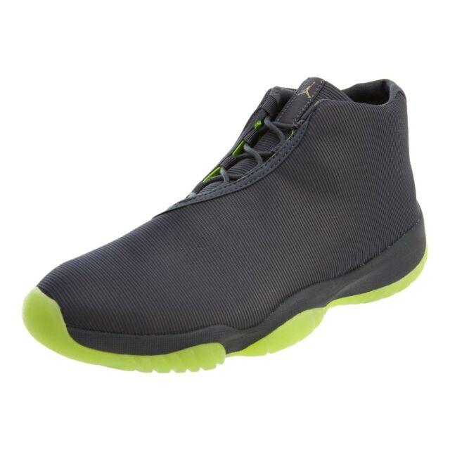 e39df02da0a Nike Air Jordan Future 11 XI Dark Grey/volt 3m Reflective Men's ...