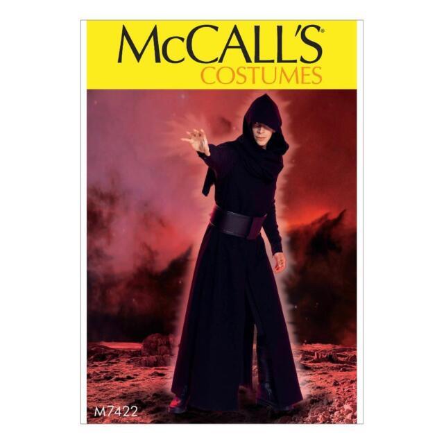 Mccall\'s 7422 Sewing Pattern to Make Star Wars Kylo Ren Jedi Knight ...