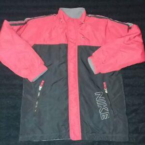 Transición Abrazadera Día del Niño  Nike Winter Jacket. Youth Large (14-16) Red/Black And Reversible ...