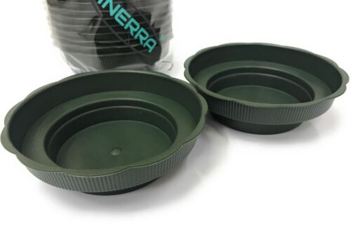 INERRA® Junior Bowls Dish Tray Floral Arrangement Green For Foam Cylinders
