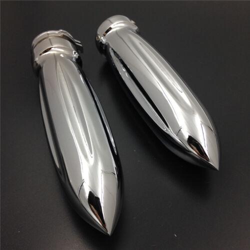 """Motorcycle bullet shape 7//8"""" Hand Grips for HONDA SUZUKI Kawasaki Yamaha bike CD"""