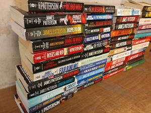 Lot-of-10-JAMES-PATTERSON-Alex-Cross-Detective-UNSORTED-Paperback-PB-Books-MIX