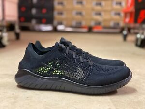 Details about Nike Free RN Flyknit 2018 Mens Running Shoes Black Anthracite  942838-002 Sz 10.5