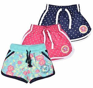 Kids Summer Shorts Girls Elasticated