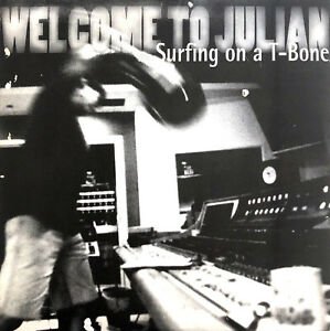 Welcome-To-Julian-CD-Single-Surfing-On-A-T-Bone-Promo-France-EX-M