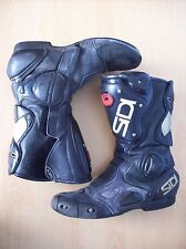 Boots Sidi Vertebra System Motorcyle Boots System ACS Black EUR Size 44