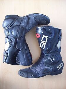 Boots Sidi Vertebra System Motorcyle Boots System ACS EUR Size 44 - Lincolnshire, United Kingdom - Boots Sidi Vertebra System Motorcyle Boots System ACS EUR Size 44 - Lincolnshire, United Kingdom