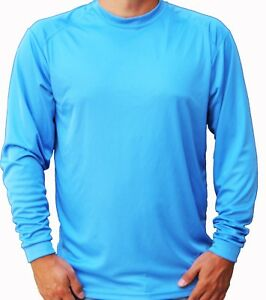 Men-039-s-Long-Sleeve-UPF-50-T-Shirt-Fishing-Boat-UV-Protection-Performance-Sport