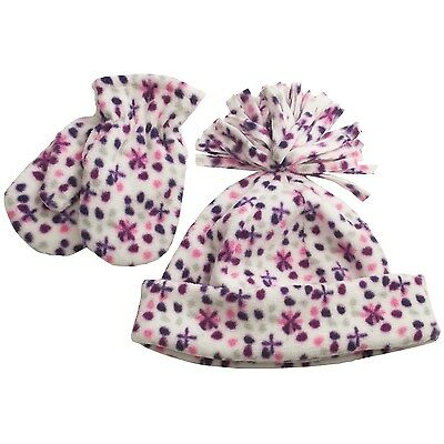 NEW Toddler Warm Winter Hat /& Mittens Set Camo Boy or Girl Realtree Fleece