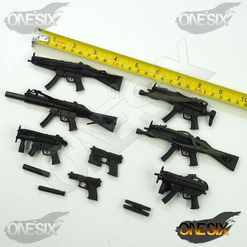 XE52-32 1 6 Scale Weapon Set HOT TOYS CITY CRAZY DUMMY DID TTL