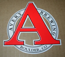 Avery Brewing A Logo Sticker Boulder Colorado Craft Beer Mancave