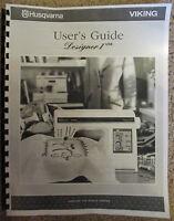 Husqvarna Viking Designer I 1 Usb Owners Users Guide Instruction Manual Book