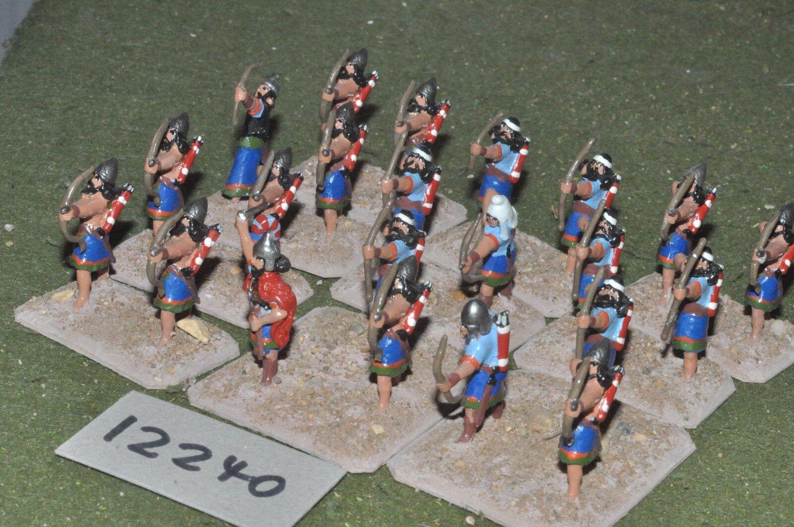 25mm bíblico Asiria-arqueros 24 figuras-INF (12240)
