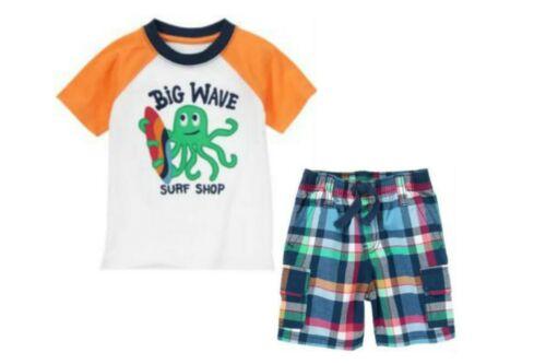 2T 3T 12-24m NWT Gymboree Boys Rock The Waves Outfits  U-Pk 12-18 4T