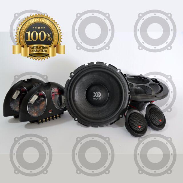 Morel Hybrid 602 Component Car Speakers 2-way 140 RMS 600w Original