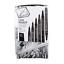 Black Derwent 2302206 Graphik Line Maker Drawing Pens Pack of 6