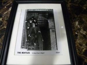 Beatles-Hard-Days-Night-Capitol-Records-photo-framed