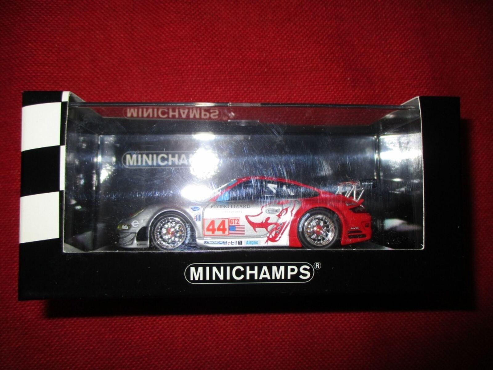 MINICHAMPS ® 400 087844 1 43 Porsche 911 gt3 rsr 12 H Sebring 2008 NEUF