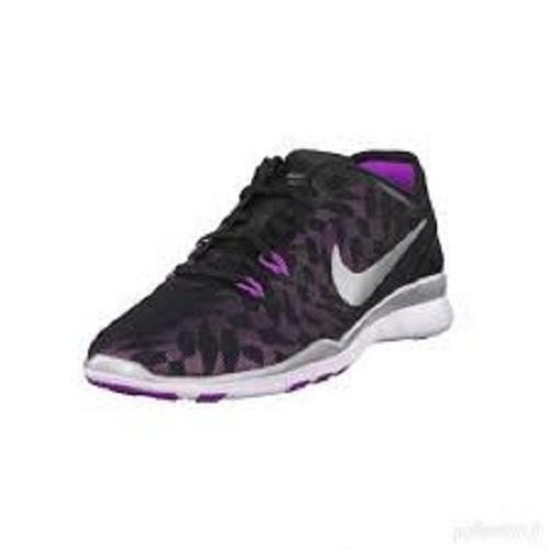 NIKE FREE 5.0 Sneakers Running Shoes Pink/Black /Silver 806277 Women's    New