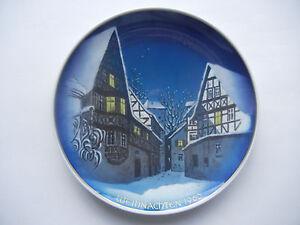 Rosenthal-Christmas-Plate-1960-Adventszweig-Meine-Artkel-Nr-1960-2